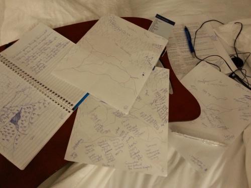 Brainstorming my Map