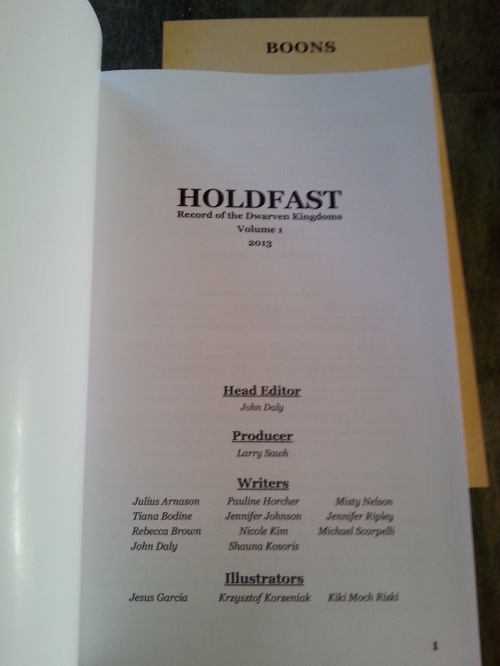 Holdfast Title Page