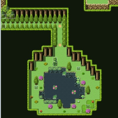 Tears of the King new grove map