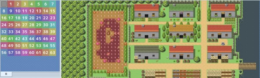 RPG Maker region example