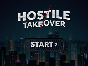 hostile takeover start screen