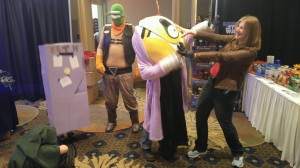 Final Space crew at ThunderCon