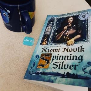 Spinning Silver and my tea mug